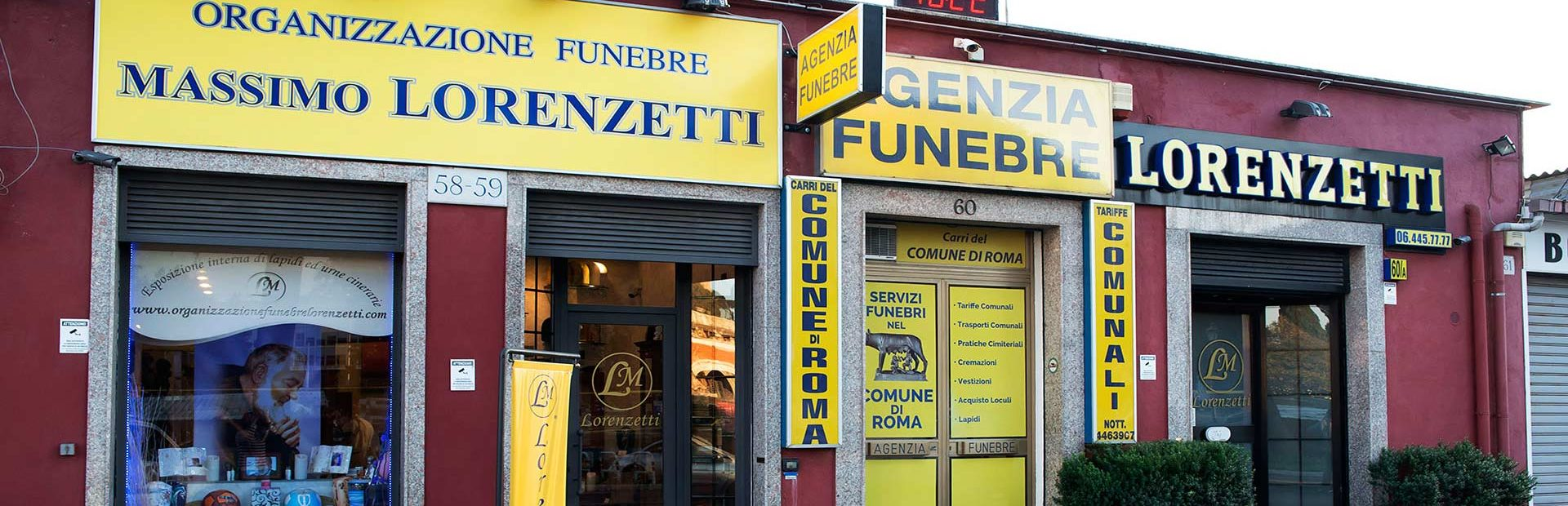 Onoranze Funebri a Roma Massimo Lorenzetti